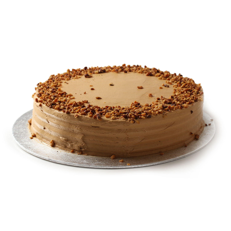 Coffee Battenburg Cake
